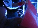 Е.Гришковец и Мгзавреби - Потому что я верю в чудеса...в толпе под дождём (20.07.2013, Сад Эрмитаж)