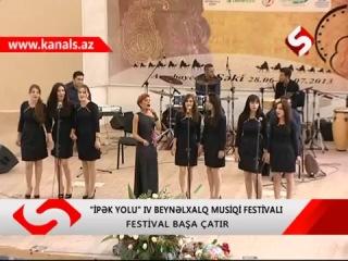 """Müğənni Tünzalə Ağayeva """"İpək Yolu""""nun qonğı olub"""